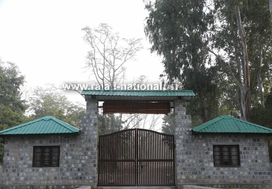 Chilla Entry New Gate Rajaji Tiger Reserve